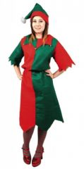 Ladies Xmas Elf Costume